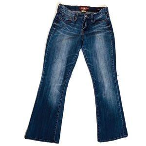Lucky Brand Sofia Boot Jeans Sz 8/29